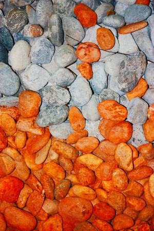 wholistic: two color of stone together