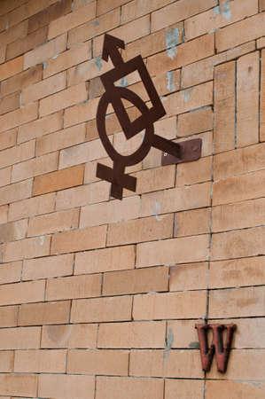 gender: Symbol of two gender