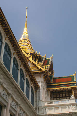 royals: Golden top of the palace