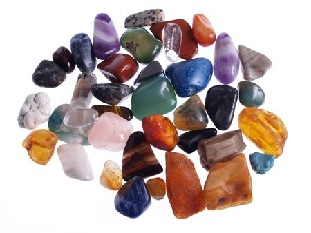 Precious Stones. studio isolated photo photo