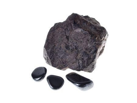 origin: Hematite. Origin: ItalyBrazil, studio isolated photo Stock Photo