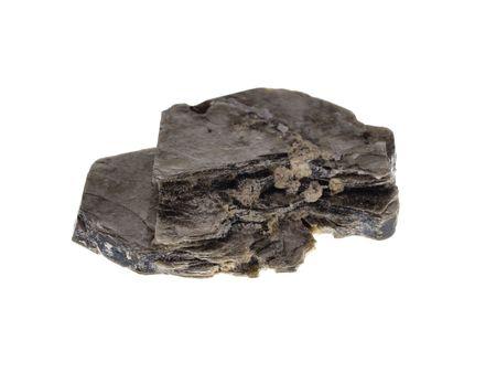 Biotite. Origin: Madagascar, studio isolated photo