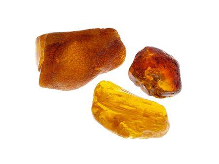 Amber. Origin: Poland, studio isolated photo
