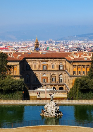 The Palazzo Pitti, Florence, Italy Stock Photo - 13244238