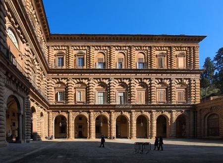 palazzo: The Palazzo Pitti, Florence, Italy