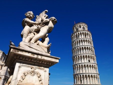 Pisa Tower, Italy photo