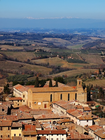 San Gimignano, Tuscany, Italy photo