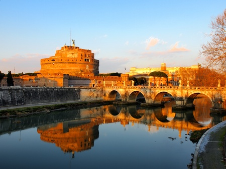 Castel Sant Angelo, Rome, Italy photo
