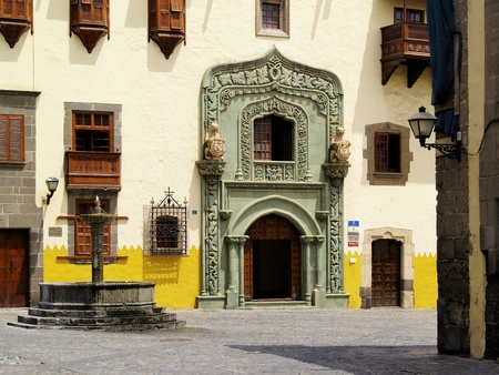 casa colon: Columbus House(Casa de Colon), Las Palmas, Canary Islands, Spain