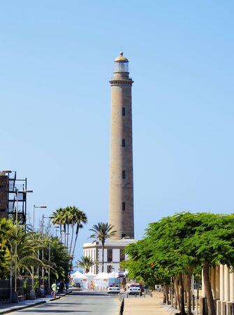 gran: Maspalomas Lighthouse, Gran Canaria, Canary Islands, Spain