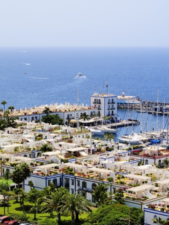gran canaria: Puerto Mogan, Gran Canaria, Canary Islands, Spain Stock Photo