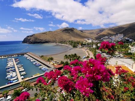 vallehermoso: San Sebastian de la Gomera, Canary Islands, Spain