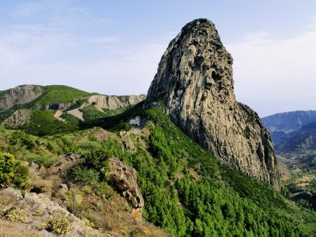 Los Roques(The Rocks), La Gomera, Canary Islands, Spain photo
