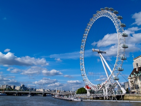 water wheel: London Eye Editorial