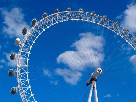 london eye: London Eye Stock Photo