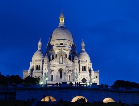 Basilique du Sacre Coeur in Montmartre, Paris photo