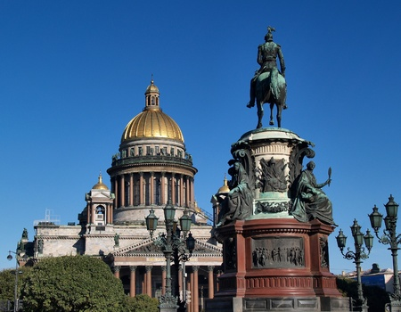St Isaac s Cathedral, Saint Petersbug, Russia photo