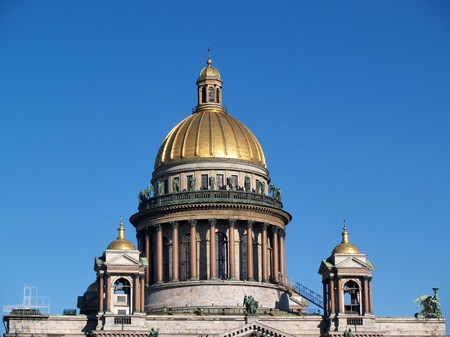 isaac s: St Isaac s Cathedral, Saint Petersburg, Russia Stock Photo