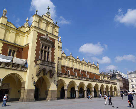cracow: Cracow Old Town, famous polish landmark