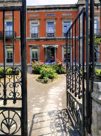 aviles: Garden, Aviles, Spain