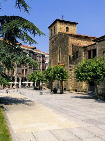 aviles: San Nicolas de Bari Church, Aviles, Spain