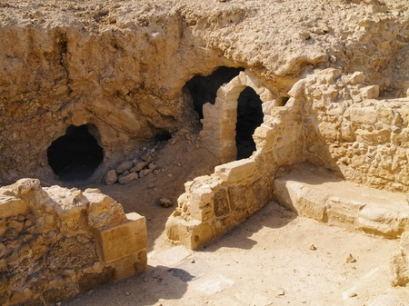 hebrews: Masada, Israel Stock Photo