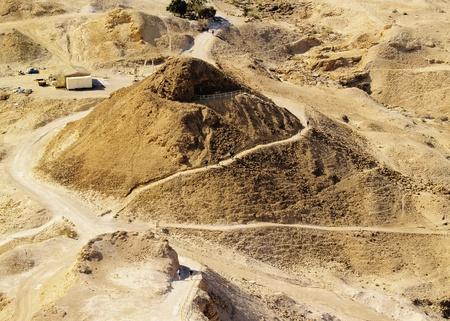 hebrews: Masada, Israel Stock Photo