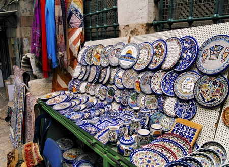 Market in Jerusalem, Israel