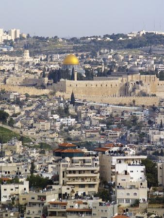 Jerusalem Cityscape, Israel photo