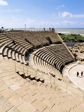 caesarea: Caesarea Theatre Stock Photo