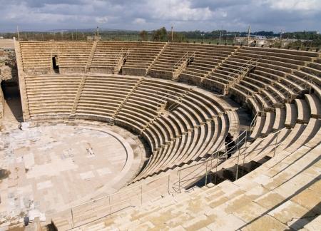 Caesarea, Foto wurde in Israel aufgenommen Standard-Bild - 14940985