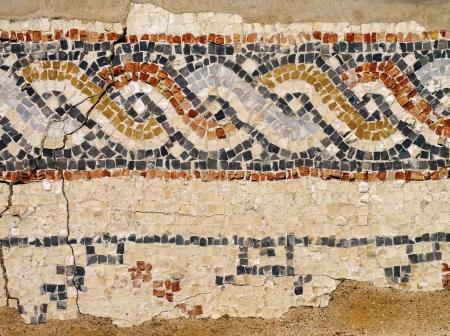 Caesarea Maritima - Mosaic photo