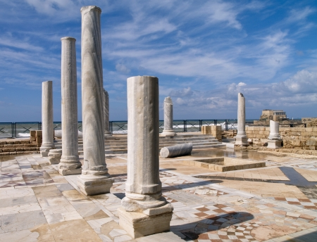Caesarea, photo was taken in Israel photo