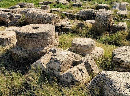Caesarea Maritima Ruins photo