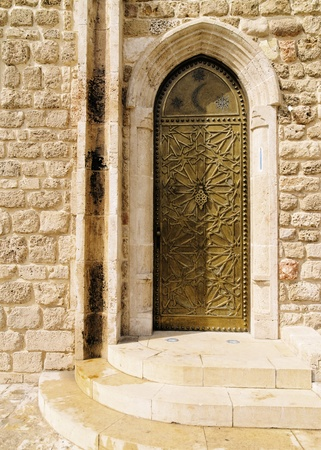Door, Jaffa, Israel photo