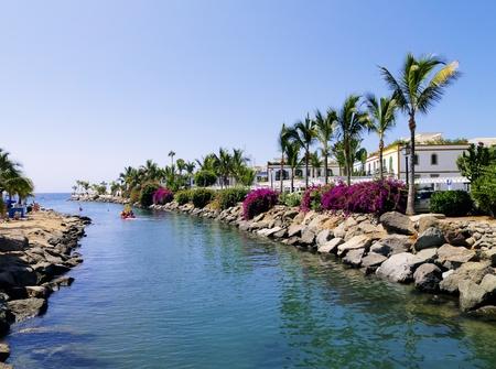 gran canaria: Puerto Mogan, Gran Canaria, Canarische Eilanden, Spanje