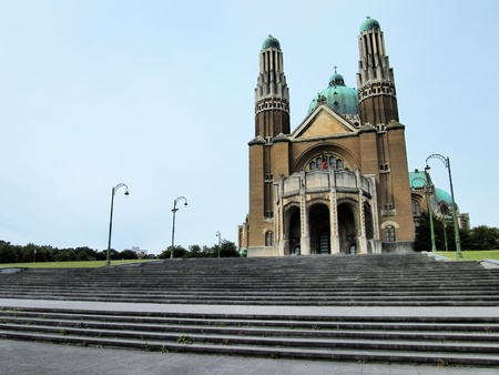 National Basilica of the Sacred Heart, Brussels, Belgium Stock Photo - 15645293