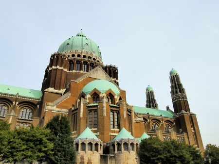 artdeco: National Basilica of the Sacred Heart, Brussels, Belgium Stock Photo
