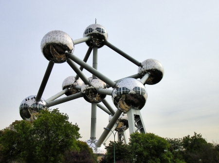 Atomium, Brussels, Belgium Stock Photo - 15625835