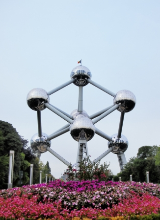 Atomium, Brussels, Belgium Stock Photo - 15625836
