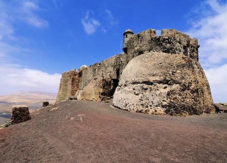 santa barbara: Saint Barbara Castle near Teguise, Lanzarote