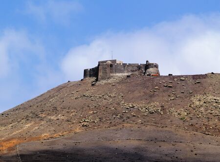 Saint Barbara Castle near Teguise, Lanzarote photo
