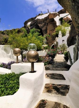manrique: Lag-O-Mar, Lanzarote, Canary Islands, Spain Stock Photo