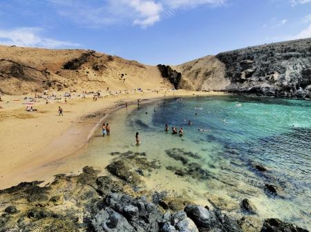 lanzarote: Papagayo Beach, Lanzarote, Canary Islands, Spain