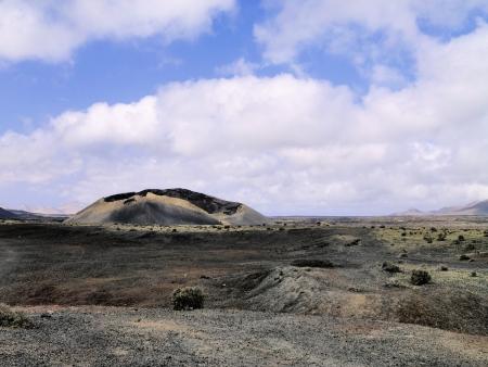 timanfaya: Parque Nacional de Timanfaya, Lanzarote, Islas Canarias
