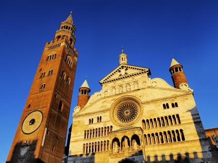 Cremona Dom, Lombardei, Italien Standard-Bild - 16291045