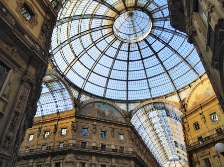 Galleria Vittorio Emanuele II, Milan, Lombardy, Italy   報道画像