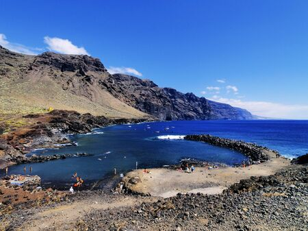 Los Gigantes(view from Punta Teno), Tenerife, Canary Islands, Spain Stock Photo - 16582115