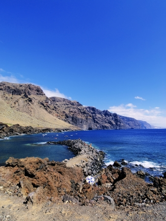 Los Gigantes(view from Punta Teno), Tenerife, Canary Islands, Spain Stock Photo - 16582108