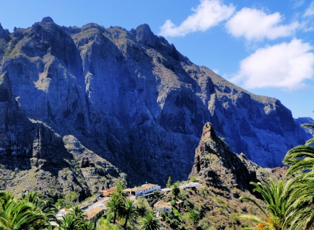Masca(Teno Mountains), Tenerife, Canary Islands, Spain